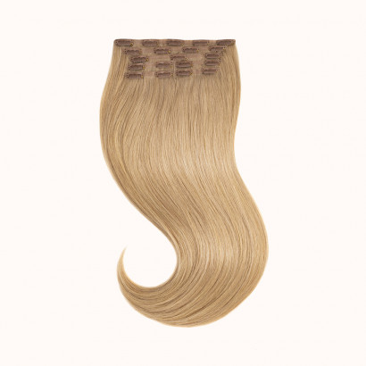 "Clips Light Brown Color 12C - Silver Line (22"" inch)"