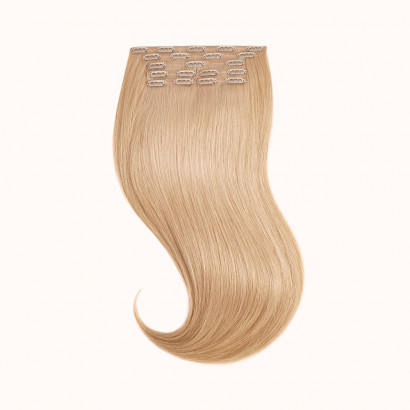 "Clips Light Brown Color 18C - Silver Line (22"" inch)"
