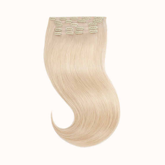 """Clips Blond Color 60C - Silver Line (22"""" inch)"""