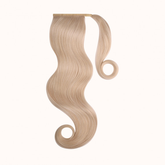 """Ponytail Blond Color 140 - Silver Line (22"""" inch)"""