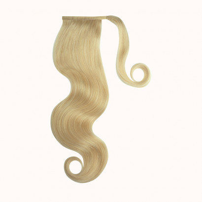 "Ponytail Blond Color 613Q - Silver Line (22"" inch)"