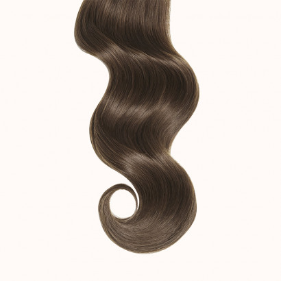 """Tapes Dark Brown Color 3Q - Silver Line (22"""" inch)"""