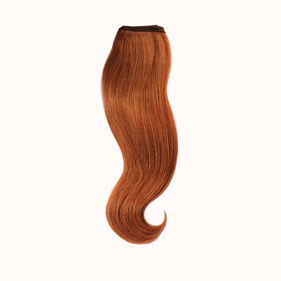 "Wefts Red Brown Color 32H - Silver Line (22"" inch)"