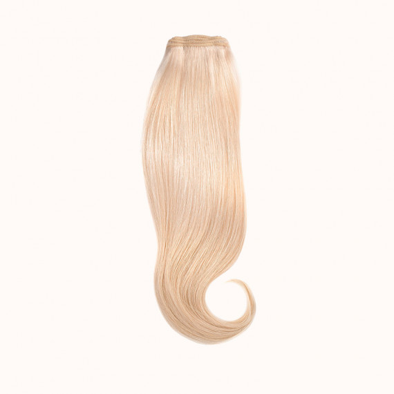 """Wefts Blond Color 60C - Silver Line (22"""" inch)"""