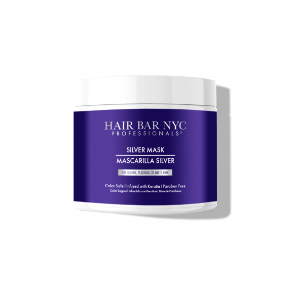 Silver Hair Mask for Colored Hair