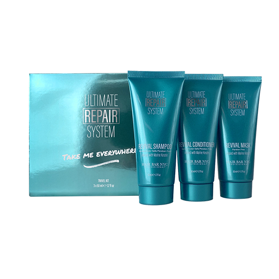 Ultimate Hair Repair System Travel Kit