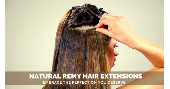 Natural Remy Human Hair Extension - Embrace The Perfection You Deserve